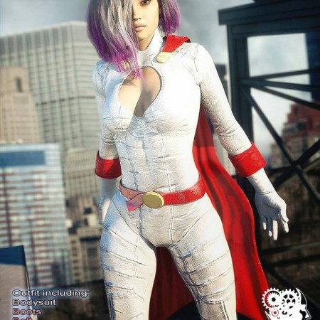 Modern Superheroes: Guardian Girl