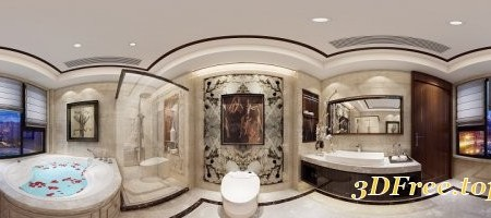 360 Interior Design Bathroom 01