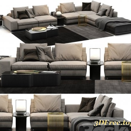 Sofa Minotti Lawrence B