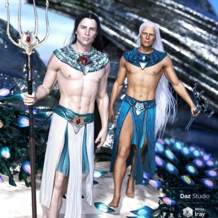 Daz3D - dForce Alascanus Outfit for Genesis 8 Male(s)