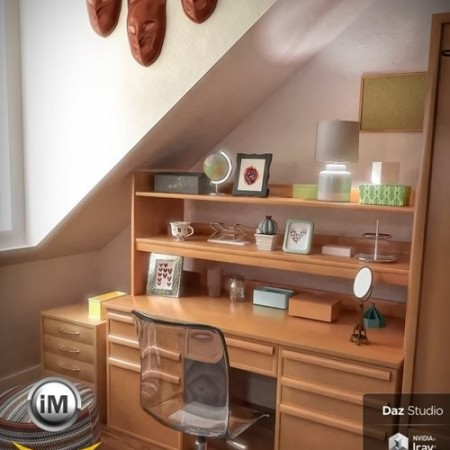 Daz3D - FG Dorm Bundle