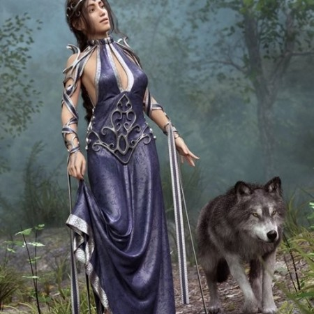 Daz3D - dForce Enchanted Queen Outfit for Genesis 8 Female(s)