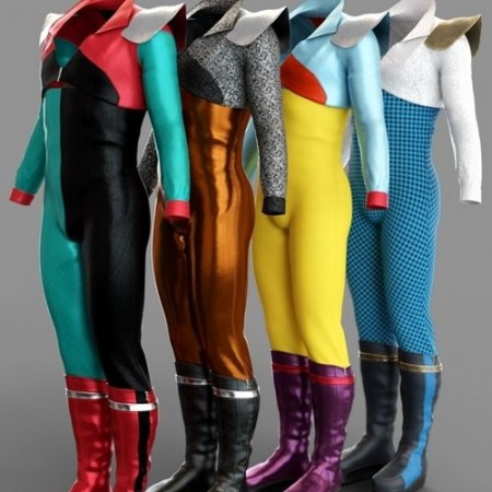 Daz3D - dForce MoonAge Outfit Textures