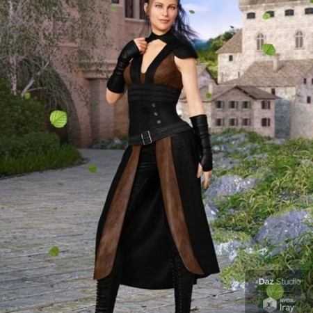 Daz3D - dForce Greenborough Adventure Outfit for Genesis 8 Female(s)