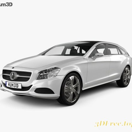 Mercedes-Benz Shooting Break concept 2011 3D model
