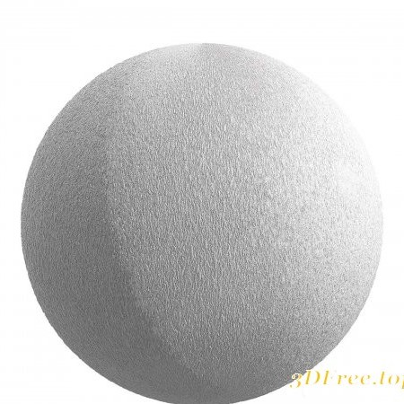 White plaster Wall PBR Texture