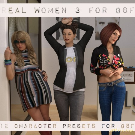 Real Women 3 for G8F