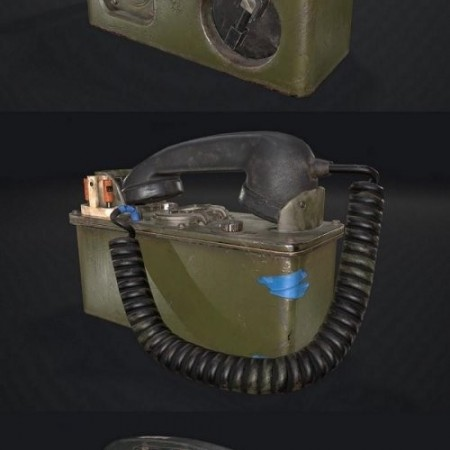 Military Telephone Set TA-43