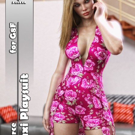 JMR dForce Maxi Playsuit for G8F
