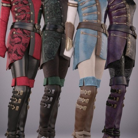 Sabriel Outfit Textures