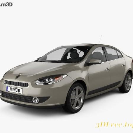 Renault Fluence 2010 3D model