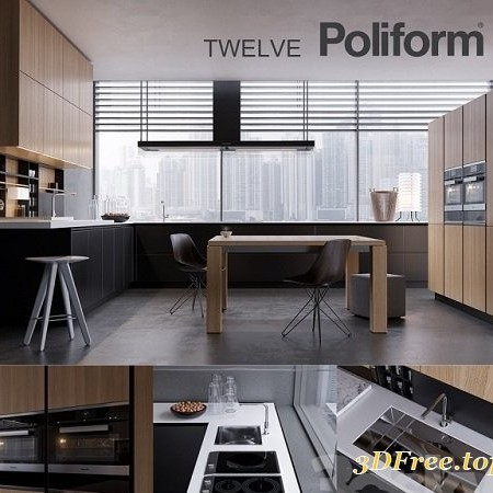 Kitchen Poliform Varenna Twelve 2