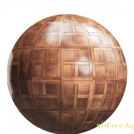 Dark chantilly wood parquet 02 PBR Texture