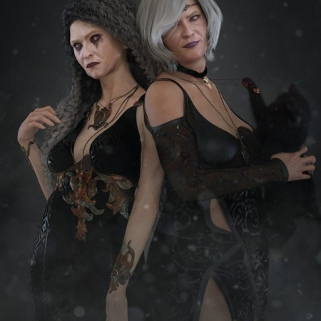 EJ Daisy and Malmorda for Genesis 8 Female