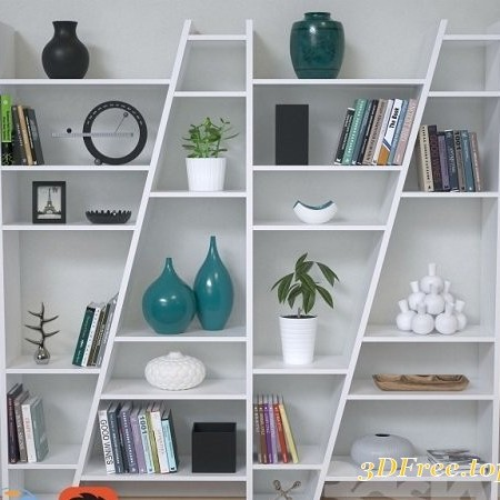 Delta Composition Shelving Unit