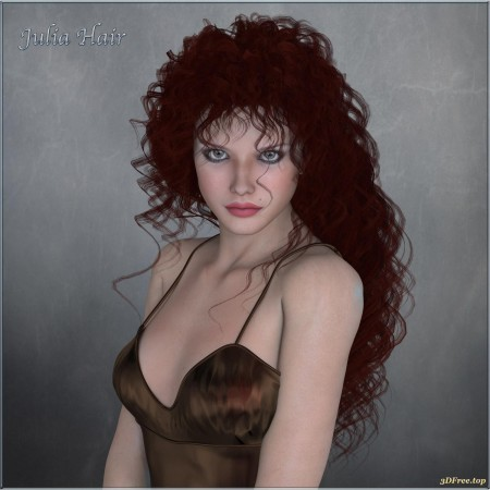 Julia Hair V4, M4 and La Femme - Poser