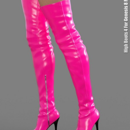 High Boots 4 for Genesis 8 Female(s)