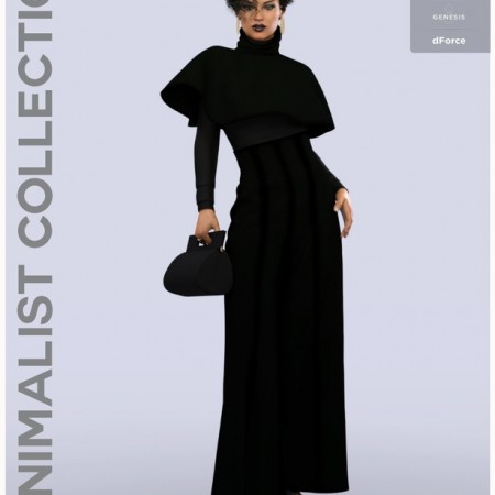 dForce Minimalist Chic Outfit for Genesis 8 Female(s)