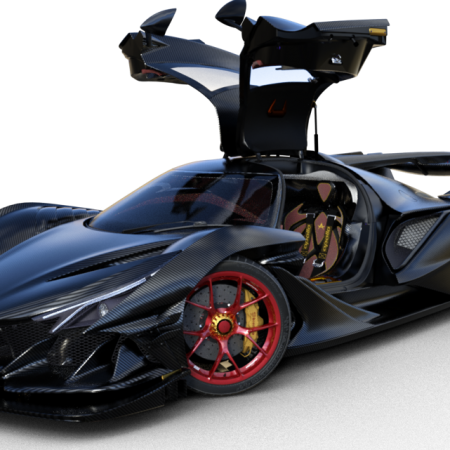 Gumpert Apollo Intensa Emozione 2018 For DAZ3D