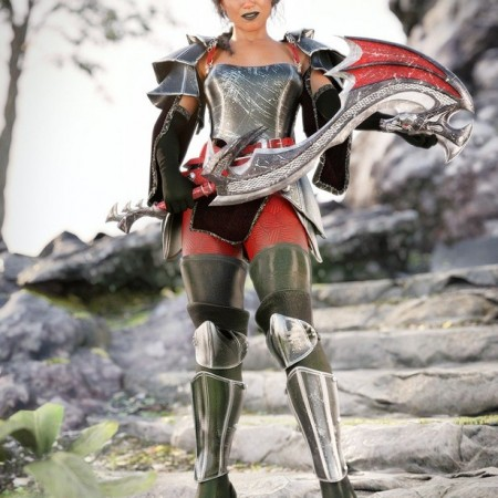 dForce Shadow Guard Outfit for Genesis 8 Female(s)