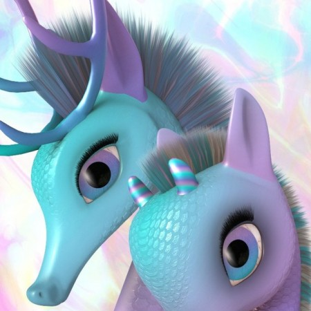 Fairytale Bits and Bobs for the Unicorn Family for DAZ Studio