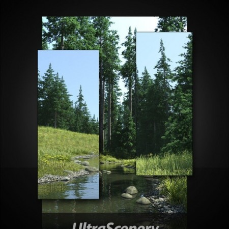 UltraScenery - Pines