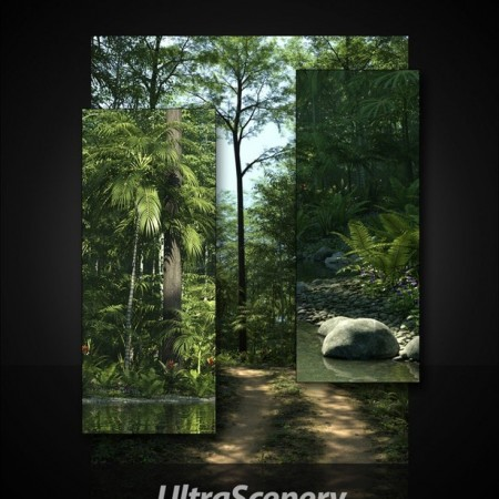 UltraScenery - Mossy Hollow