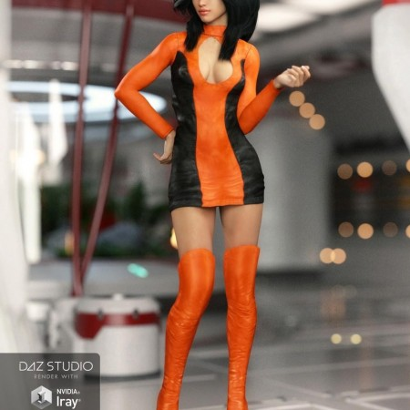 Delta Outfit for Genesis 3 Female(s)