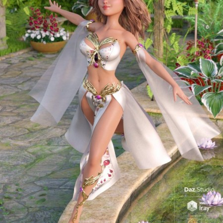 dForce Magical Charm Outfit for Genesis 8 Female(s)