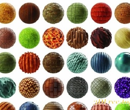 Substance Source Stylized Art A Starter Kit of 100 Materials