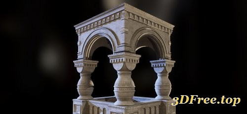 Stone Structure Trim Sheet