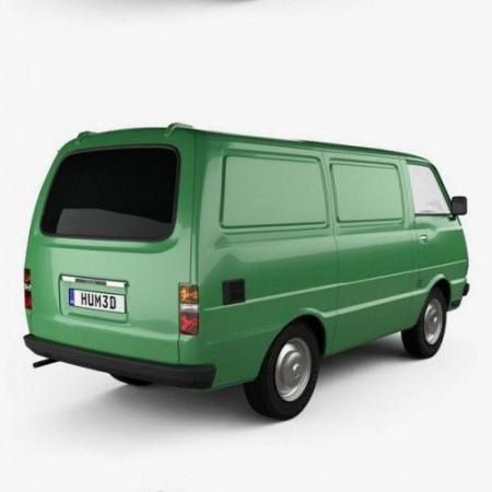 Toyota Hiace Panel Van 1977 3D model