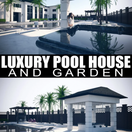 Luxury Pool House and Garden