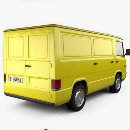 Mercedes-Benz MB100 Panel Van 1988 3D model