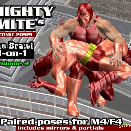 The Brawl 1on1 v04  MightyMite for M4F4