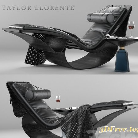 R1000 SCULPTURAL CHAISE LONGUE
