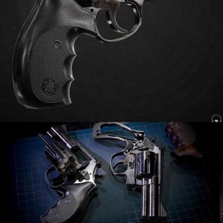 SMITH AND WESSON 686 REVOLVER