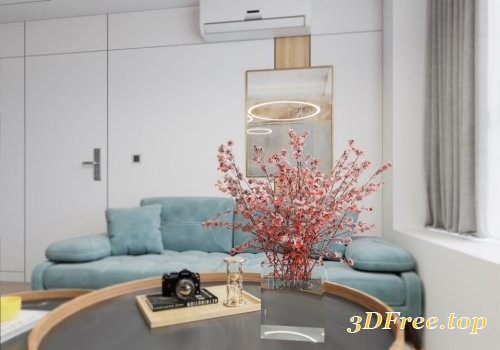 Apartment 3D Scene Nguyen Thai Nguyen