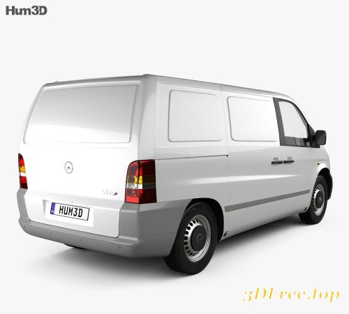 Mercedes-Benz Vito (W638) Panel Van 1996 3D model