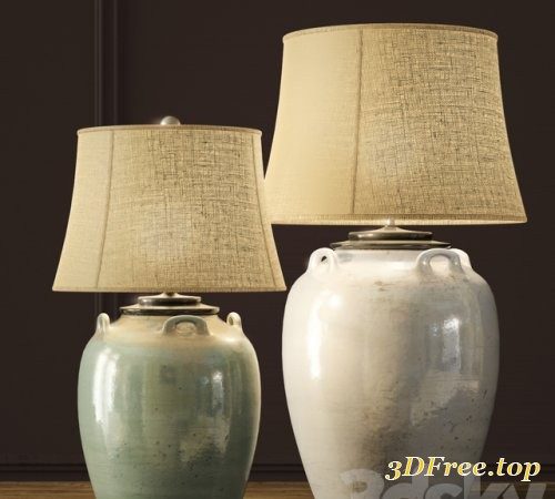 Pottery Barn | Courtney Ceramic Table Lamps