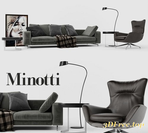 Minotti Set 01 Sherman Sofa