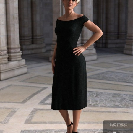 dForce Summer Dress Venice for Genesis 8 Female(s)