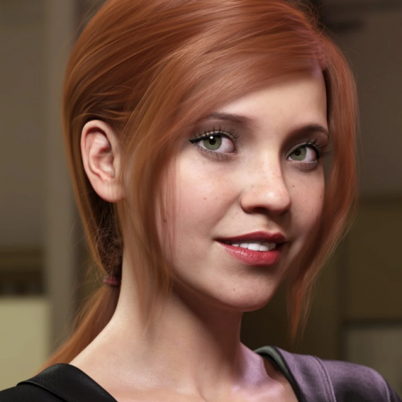 Low Ponytail Hair for Genesis 3 and 8 Female(s)