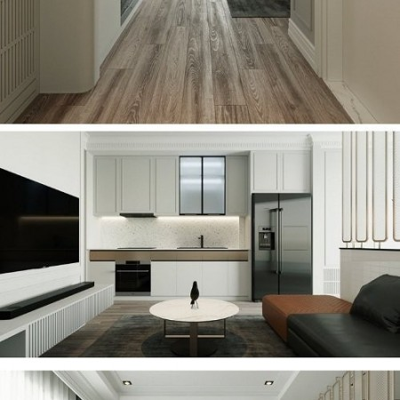 3D Interior Apartment Scene By DoanGiang