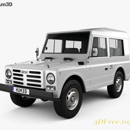 Fiat Campagnola Station Wagon 1987 3D model
