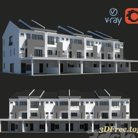 3 Storey Terrace House