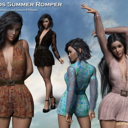 Fads Summer Romper for the G3 and G8 Females