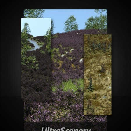 UltraScenery - Heath & Moor and Wasteland