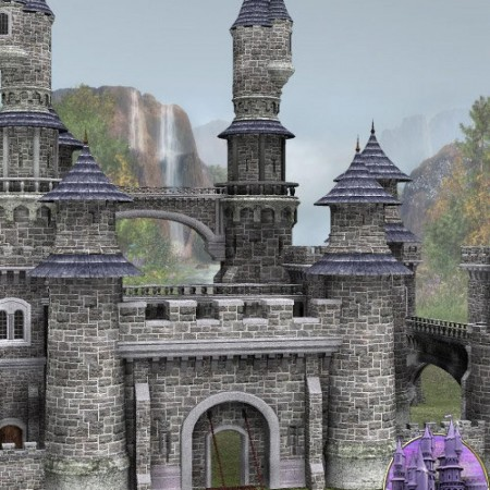 Fairytale Collection -- Fantasy Castle