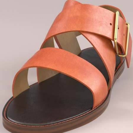Mia Sandals for Genesis 3 Female(s)